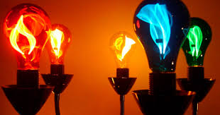 what is a flicker flame light bulb