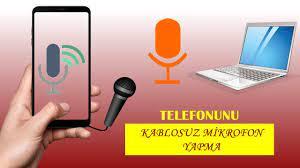WO MİC - TELEFONU BİLGİSAYARDA MİKROFON OLARAK KULLANMA || Wo Mic ile  Kablosuz Mikrofon Kullanımı ? - YouTube