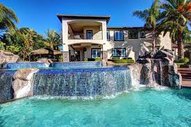 big houses with pools | Large House with Pool iPad Wallpaper HD 1024x1024 |  iPad Other ... | Stuff to Buy | Pinterest | Large houses, Big houses and  iPad