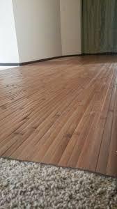 best flooring over carpet solution ever skywaymom elegant can vinyl tile be installed over linoleum