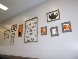 wall decoration in cafe picture of