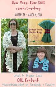 Ravelry Knitting Pattern Central Simple New Year New Skill CAL Week 48 Bruges Lace Underground Crafter