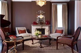 Example of a mid-sized classic formal and enclosed dark wood floor living  room design