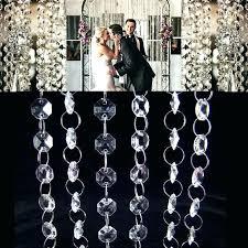 pottery barn crystal chandelier garland post pottery barn chandelier glass garland