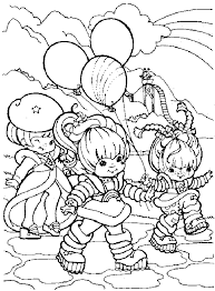 Small Picture rainbow brite Colouring Pages page 2 Crafty 80s Rainbow