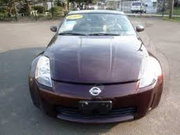 2003 nissan 350z interior. 2003 nissan 350z automatic maroon with beige interior 350z