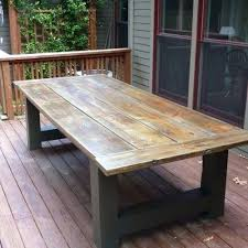 large patio dining table large round outdoor dining table favorite how to build a outdoor dining