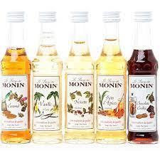 Foodie gifts and gourmet food halifaxhollow. Monin Flavoured Coffee Syrups Sampler Set 5 X 50ml Coffee Flavor Coffee Syrup Gold Peak Tea Bottle