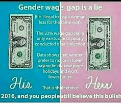 Gender Wage Gap Is A Lie It Is Illegal To Pay A Woman Kxrt Less For