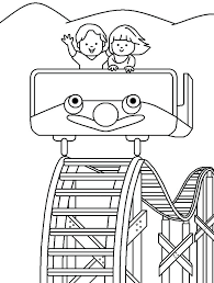 carnival coloring pages preschool roller coaster coloring pages preschool in good carnival best place to color carnival coloring pages preschool