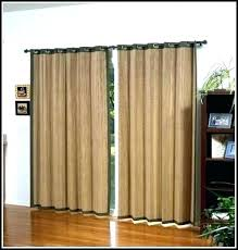 living room sliding door curtains curtain slider glass rod tips hanging insulated s
