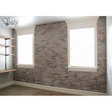 diy thin brick wall shanty 2 chic