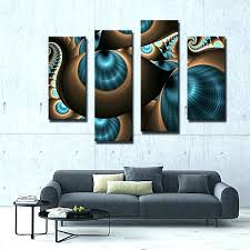 teal and brown wall art blue and brown wall decor teal and brown wall art compare teal and brown wall