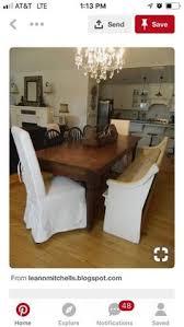 after dining room church pew harvest table chandelier open floor plan