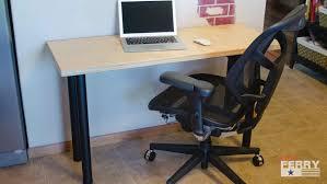 design your own office desk. Make Your Own Computer Desk Furniture Office Design Tall Little L