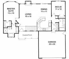 2 bedroom 2 bath house plans. Modren Bedroom Plan 1179  Ranch Style Small House Plan 2bedroom Split Love It  For  The Home Pinterest House Plans And Small Plans Throughout 2 Bedroom Bath Plans 7