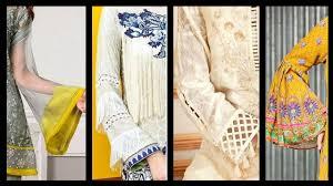 3 Quarter Sleeves Design Sleeves Designs For Kurti Top Designer Sleeves Latest
