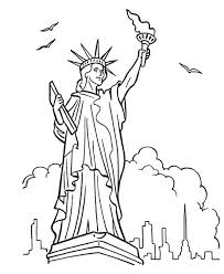 Small Picture Great Bluebonkers Armed Forces Day in Statue of Liberty Coloring