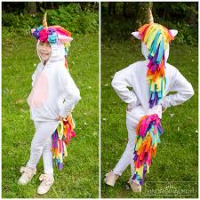diy unicorn hoo costume adorable unicorn costume made out of a hoo perfect for