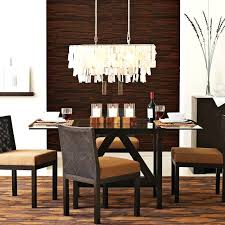 kitchen table chandelier hanging
