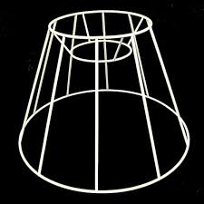 Contemporary Lampshade Frame