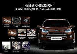 new car launches team bhpFord EcoSport facelift launched at Rs 679 lakh  TeamBHP
