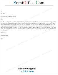 hospital letter informatin for letter letter to request for in hospital bill semioffice com nursing istant cover