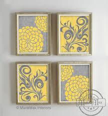 yellow and gray wall decor of yellow and gray wall decor yellow and gray wall decor image source com
