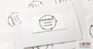 Fb Free Heart Wreath Open When Letters Printable Military Printables