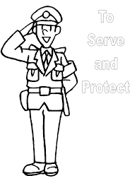 Small Picture Community helpers coloring pages police ColoringStar