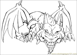Small Picture Yu Gi Oh Coloring Page 09 Coloring Page Free Yu Gi Oh Coloring