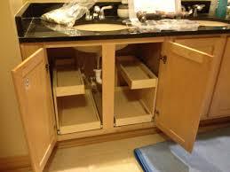 kitchen cabinet organizer pull out drawers corner slide shelves new sliding under storage drawer shelfgenie bartlett