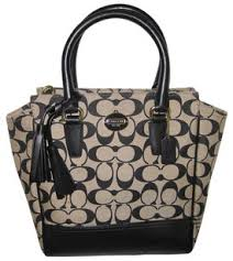 Coach Tanner Legacy Mini Khaki Black Cross Body Bag - Tradesy