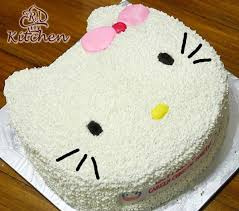 Jual Birthday Cake Hello Kittykue Ultah Hello Bukalapak Terjual