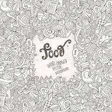 Food Background Vector At Getdrawingscom Free For Personal Use