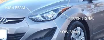 2011 16 Hyundai Elantra Light Bulb Size Type Location