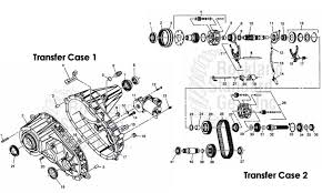 transfer case 2003 h2 repair issues help please attached images