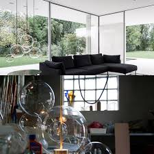<b>Clear glass ball living</b> room chandeliers art deco lamp shades ...