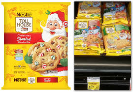 nestle christmas cookies. Brilliant Christmas Nestle Toll House Holiday Cookies Inside Nestle Christmas Cookies E