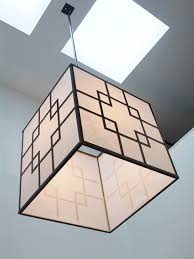 asian pendant lighting. asian square steel pendant light lighting a