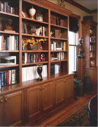home office bookshelves. Custom Bookshelves With Cabinets Below. On One Wall In Our Library We Have Below Home Office E