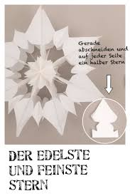 Stern Aus Papier Anleitung Weihnachtsstern Basteln
