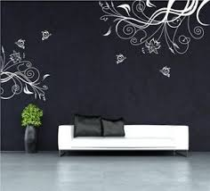 image is loading butterfly vine flower vinyl wall art stickers wall  on vinyl wall art uk with butterfly vine flower vinyl wall art stickers wall decals uk rui242