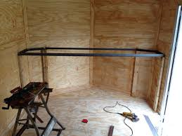 Cabinets For Cargo Trailers Brought An Enclosed Trailer Need Advice On Fitting Out The