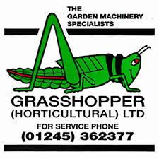 grasshopper logo. grasshopper (horticultural) ltd \u2013 lawn mower, turfcare and garden machinery dealer in chelmsford essex. sales, service parts. logo