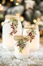 How To Use Mason Jars For Decorating DIY Snowy Mason Jars 81