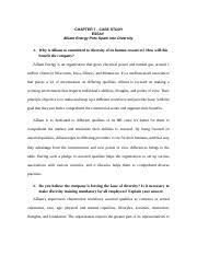 ch case study essay why is alliant so committed to diversity  2 pages chapter 7 case study essay