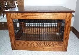 furniture style dog crates. Furniture Dog Crates Image Of End Table Crate Bespoke Wooden  Uk . Style U