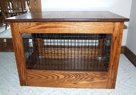 furniture dog crates image of end table dog crate bespoke wooden dog crates uk