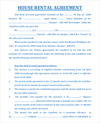 House Rent Agreement Format House Rent Agreement Format Gtld World